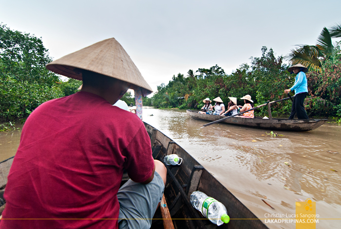 Mekong Delta Day Tour River Canoe Ride