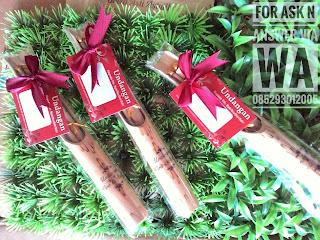undangan bambu separo terbaru