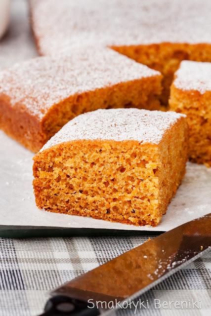 Ciasto marchewkowe bez miksera