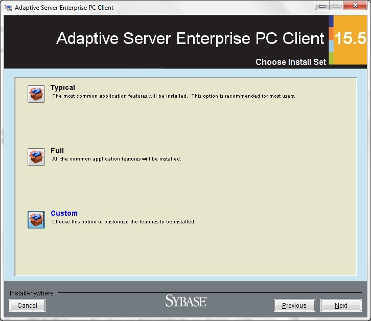 Ase Odbc Driver By sybase download versions