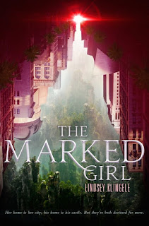 The Marked Girl by Lindsey Klingele book cover