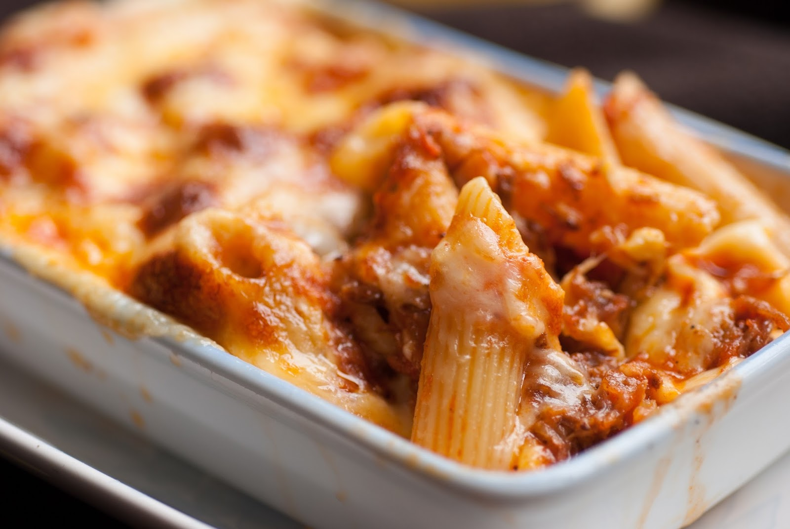 Greek Lamb And Penne Pasta