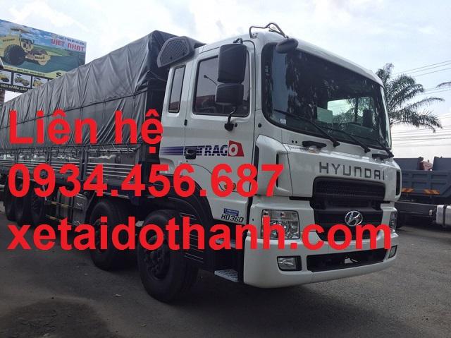 Giá lăn bánh xe 5 chân Hyundai HD360 thùng bạt