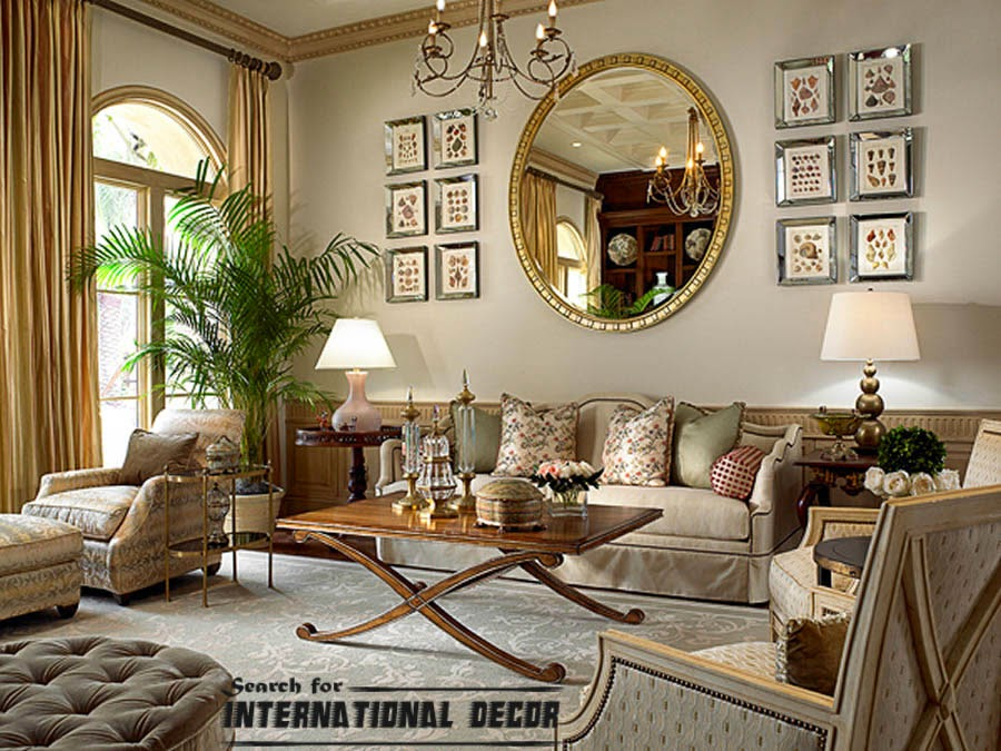 How to create a real classic interior design - Classic living room interior design ideas ...