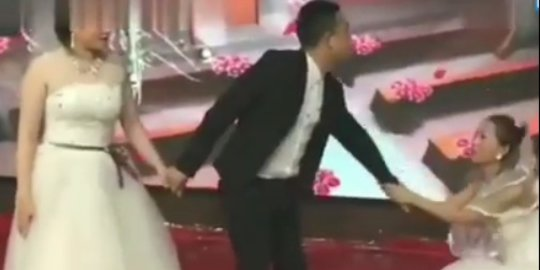 Mantan Datang Lengkap Dengan Gaun Pengantin, Pernikahan Pasangan Ini Jadi Kacau