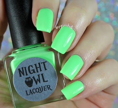 Night Owl Lacquer Wish | Light & Bright Neon Creams