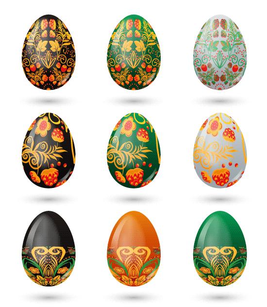 Huevos de Pascua colección 2