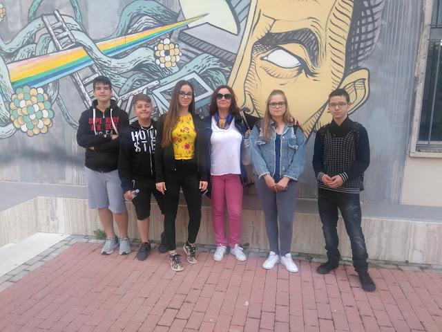 1st Blended Mobility: Πέντε μαθητές του 1ου Γυμνασίου Ναυπλίου στο Μοντεσάρκιο της Ιταλίας