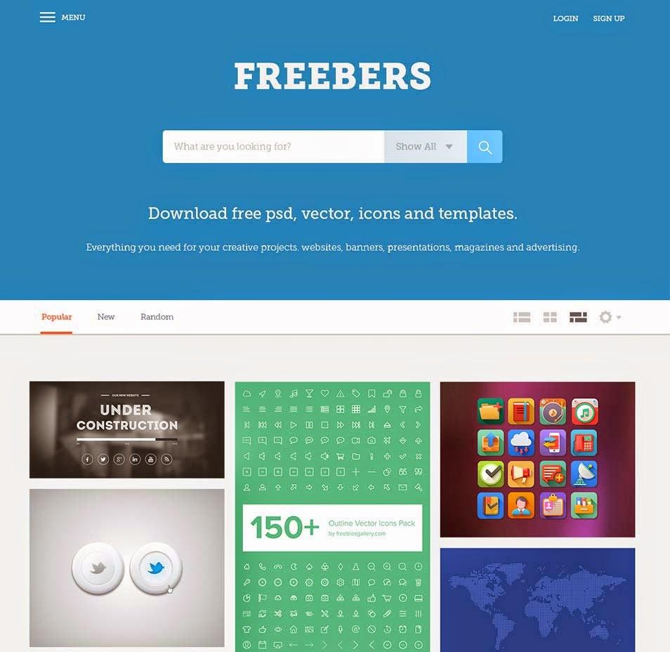 Freebers - Free Web Template