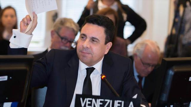 """Venezuela denuncia 'ceguera' y doble moral de UE tras """"atentados"""""""