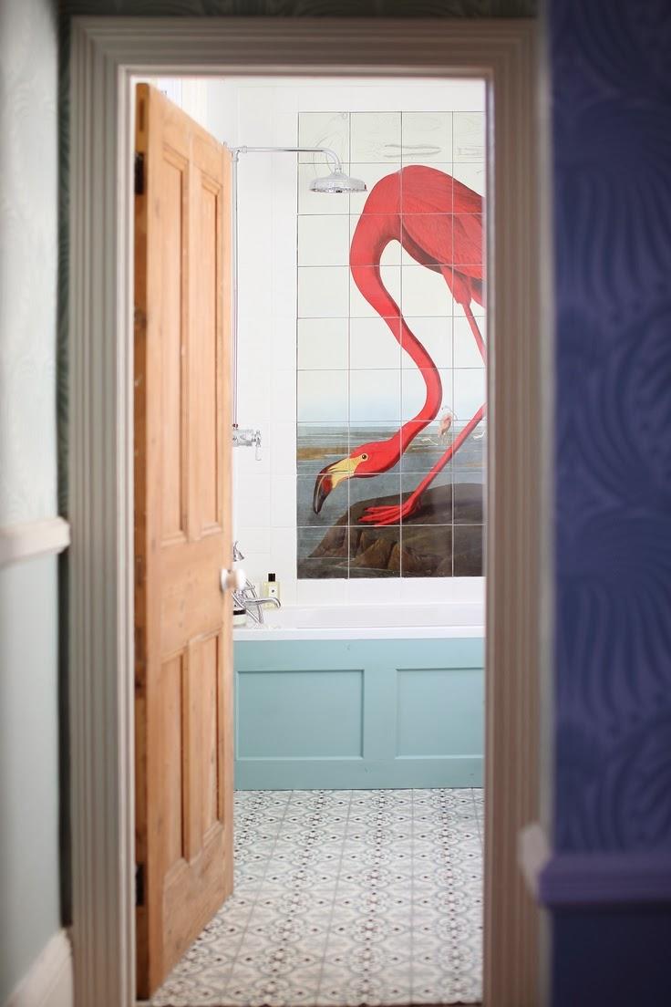 To Da Loos: The Flamingo Bathroom