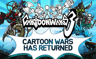 Download Cartoon Wars 3 v1.0.7 MOD Unlimited Money