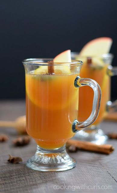 Hot Spiced Toddy Cocktail Recipe