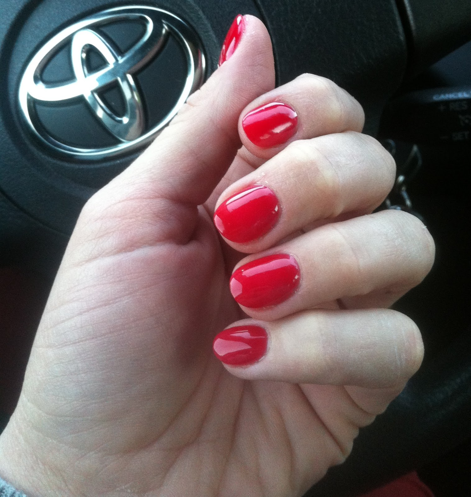Red Short Nails Inspiration