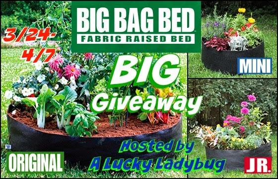 Big Bag Bed Big Giveaway