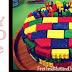 Super Easy #DIY LEGO Cake