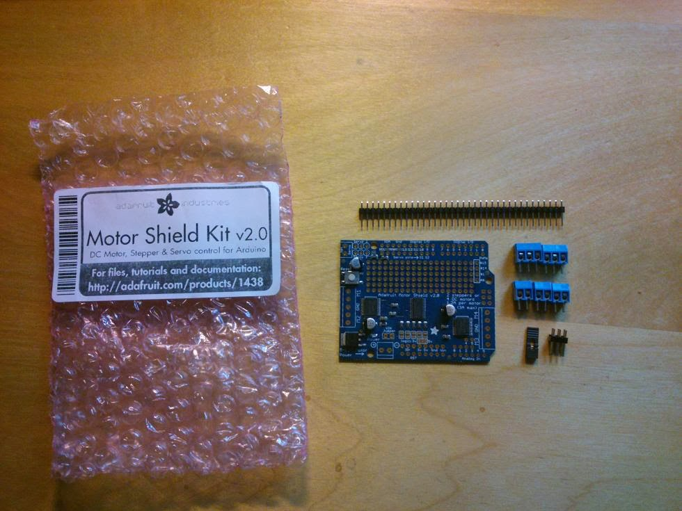 Adafruit Motor Shield Kit v2 0 | VanceAnce