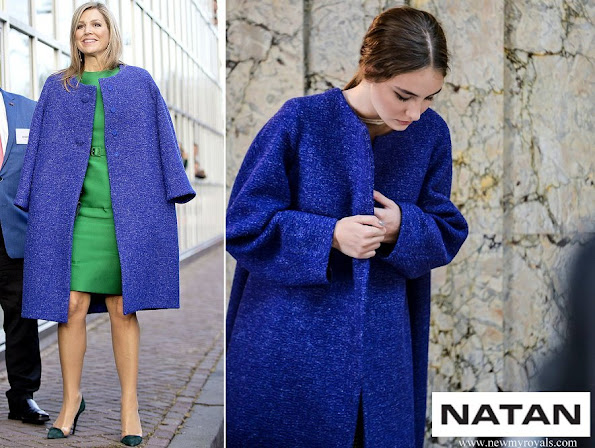 Queen Maxima wore Natan Coat - Fall / Winter collection