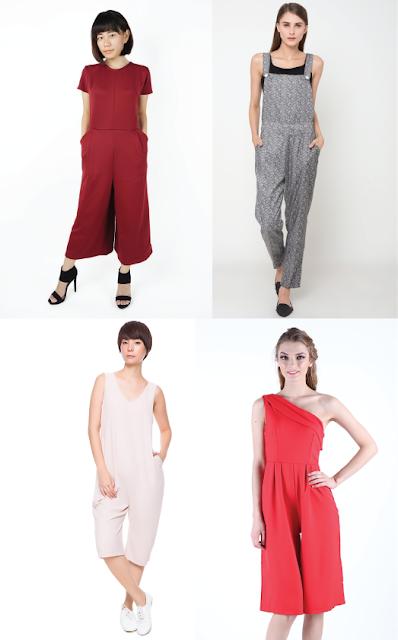 Model jumpsuit wanita terbaru