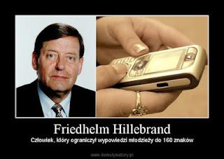 penemu SMS , Friedhelm Hillebrand