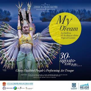 DESDE CHINA: MY DREAM POR CHINA DISABLED PEOPLE´S PERFORMING ART