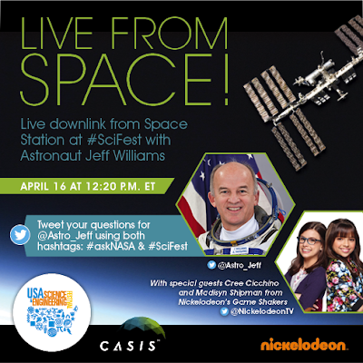 Nickalive cree cicchino and madisyn shipman to host for Space station usa