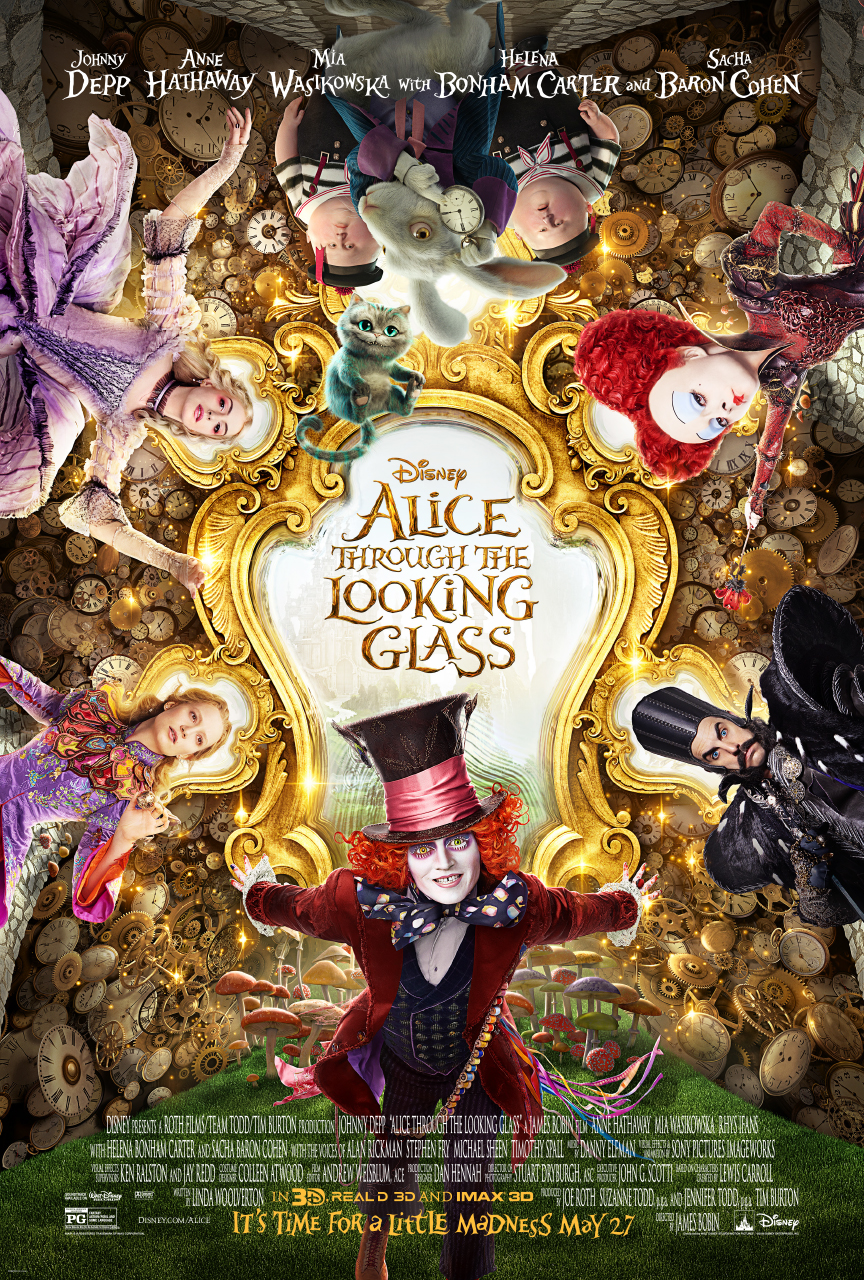 Libra Blogs: Film Review: Alice Through the Looking Glass