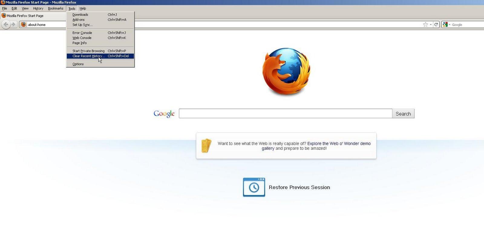 Firefox Internet Cache Download