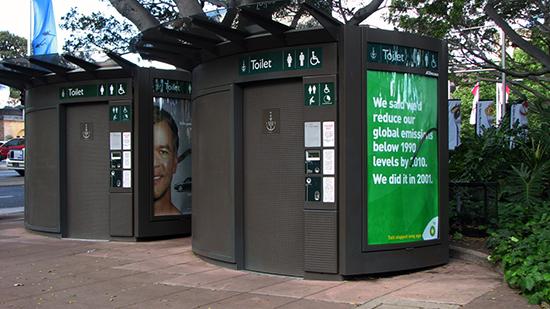 9 model Desain toilet minimalis di ruang publik
