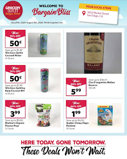 ⭐ Grocery Outlet Ad 8/5/20 ⭐ Grocery Outlet Weekly Ad August 5 2020