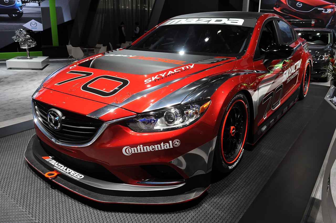 autos eco friendly detroit 2013 mazda 6 race car. Black Bedroom Furniture Sets. Home Design Ideas