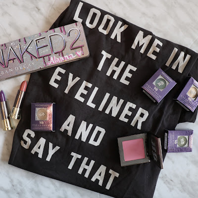 urban decay square one blogger event swag bag