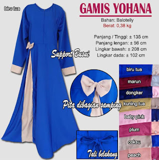 Gamis balotelly support busui - yohana