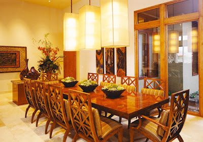 đèn thả bàn ăn cho quán ăn sang trọng