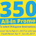 February Promo Seat Sale for as low as P350 All-In