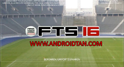 First Touch Soccer FTS 16 Mod Apk + Data Latest Version 2017