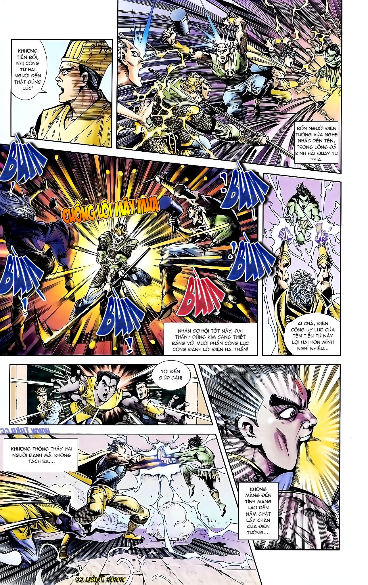 Cơ Phát Khai Chu Bản chapter 126 trang 9