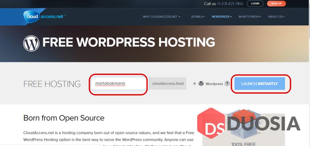 Cara membuat web self hosted ddengan mudah dan gratis