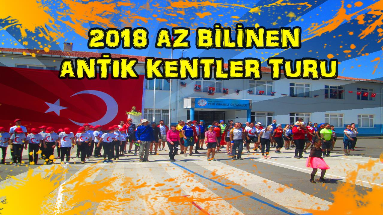 2018 AZ BILINEN ANTIK KENTLER TURU