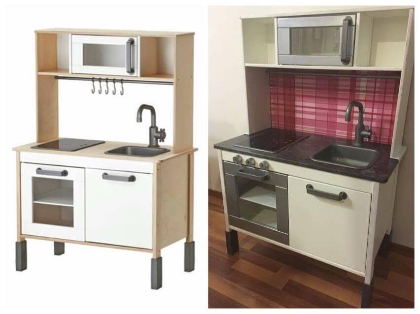 Pirppunen Projektina DIY Ikea Duktig