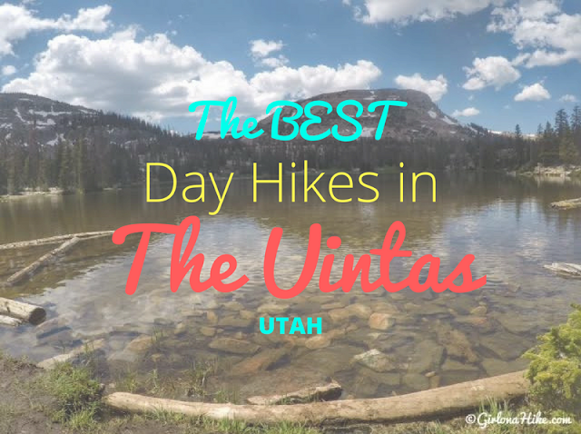 the BEST Uinta Day Hikes