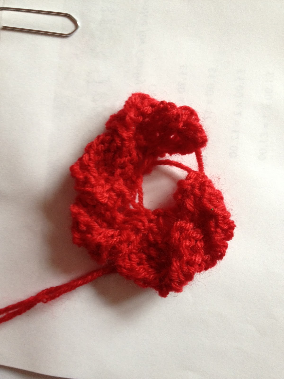 8a2869b29a3a09 Knitting Pattern for 500 Poppies Project. Quick Knitting Poppy