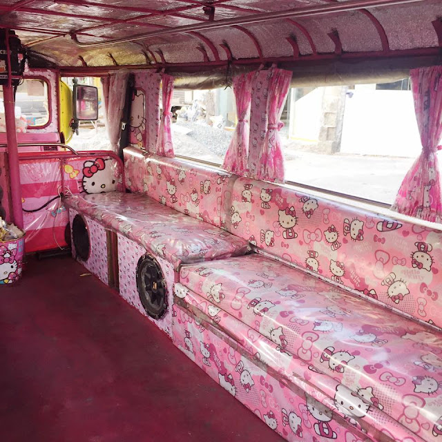 You Won't Believe Your Eyes When You See What This Jeepney From Pampanga Looks Like! Clue: It's All Pink! Check It out Here!