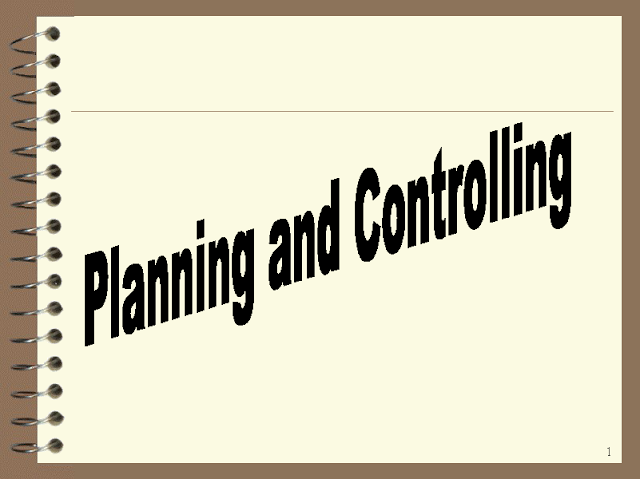 An introduction to Planning and Controlling