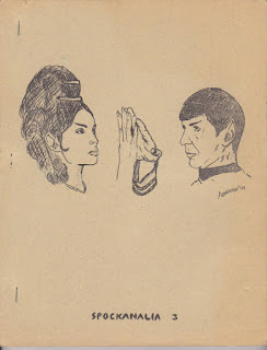 front cover of Spockanlia #3 (1968), second edition, Allan Asherman. image source: http://fanlore.org