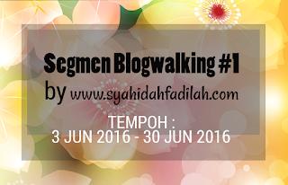 Segmen Blogwalking #1 by www.syahidahfadilah.com
