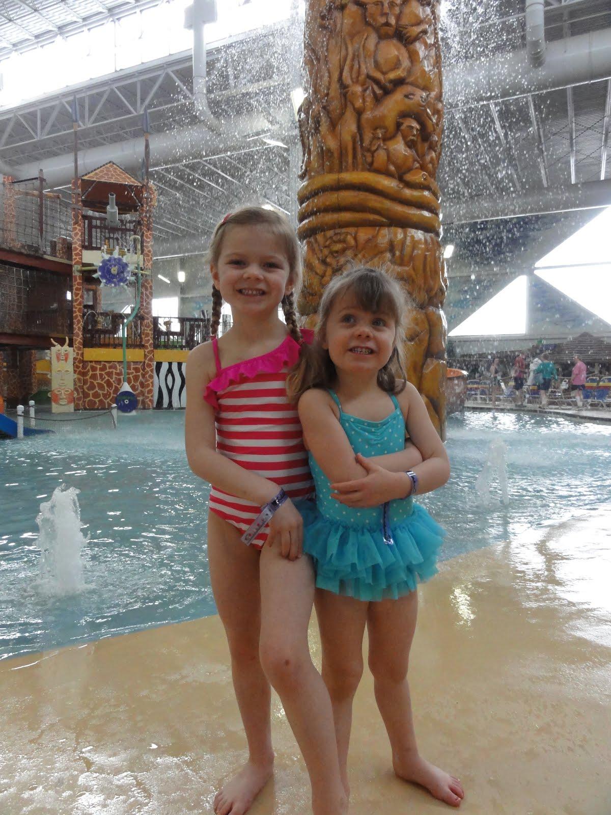 WI Stampf Family Blog: Kalahari Water Park Trip