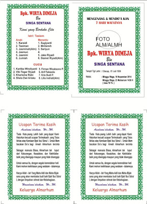 Desain Cover Buku Yasin cdr