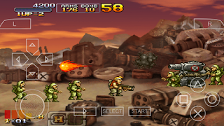 Game Metal Slug XX (USA) ISO PSP