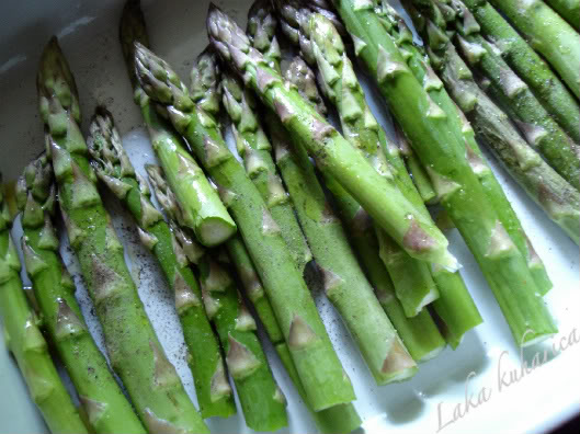 bake asparagus in the oven